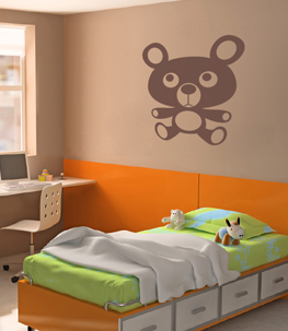 Baby Bear Nursery Wall Decal