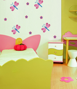 Dragonflies Nursery Wall Decal
