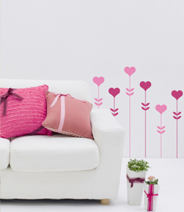 Love Garden Vinyl Wall Decal