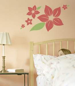 Melia Flower Wall Decals