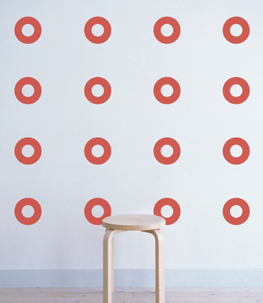 Ring Polka Dots Wall Decals