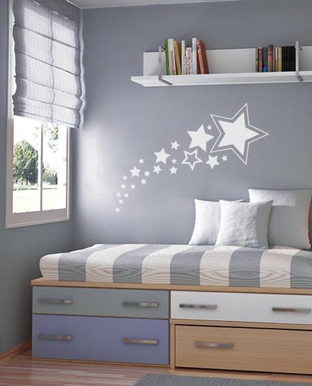 Shooting Stars Nursery Wall Decal