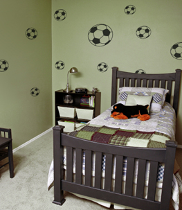 Soccer Balls Sports Wall Decal